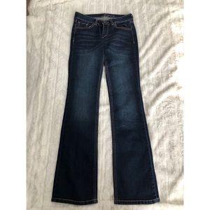 NY & Co. Bootcut Dark Denim Jeans- Size 0P- NWOT